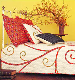 Applique Bed Covers from India