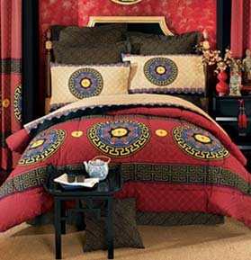 Decor asian bedding