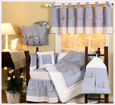 Baby Crib Bedding Set - BABY CRIB WHA