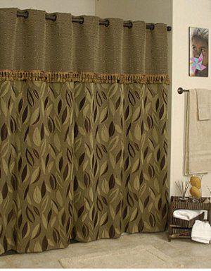 Brown And Tan Shower Curtain Designer Shower Curtains Online