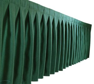 French Box Pleat