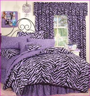 Leopard Printed Bed Sheet