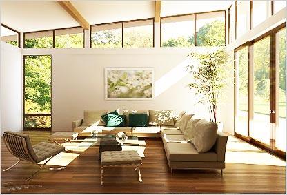 Eco Friendly Living Room Design