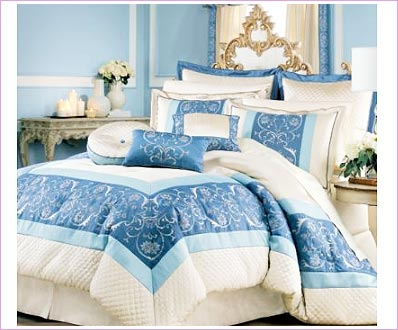 Park Palace Embroidered Bedding