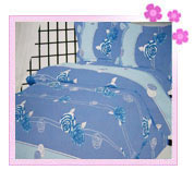 Printed Polyester Bed Cover