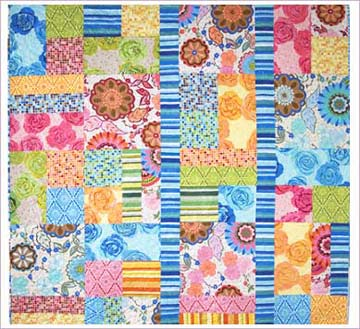 Multi Colored Quilt Pattern