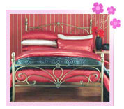 Satin Bed Covers
