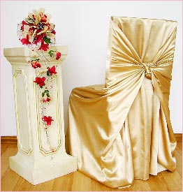 Satin Chair Cover