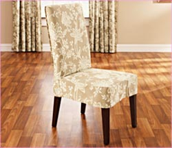Charming Short Dining Chair Cover Part 29