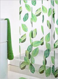 Design Ideas for Fabric Shower Curtains