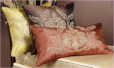 Zardozi Cushion Covers Royal Zardozi Cushion Covers