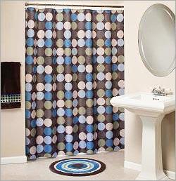 Retro Curtains Designs Shower